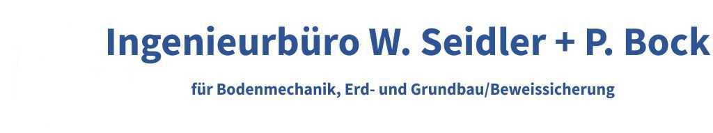 Seidler Baugrund Logo